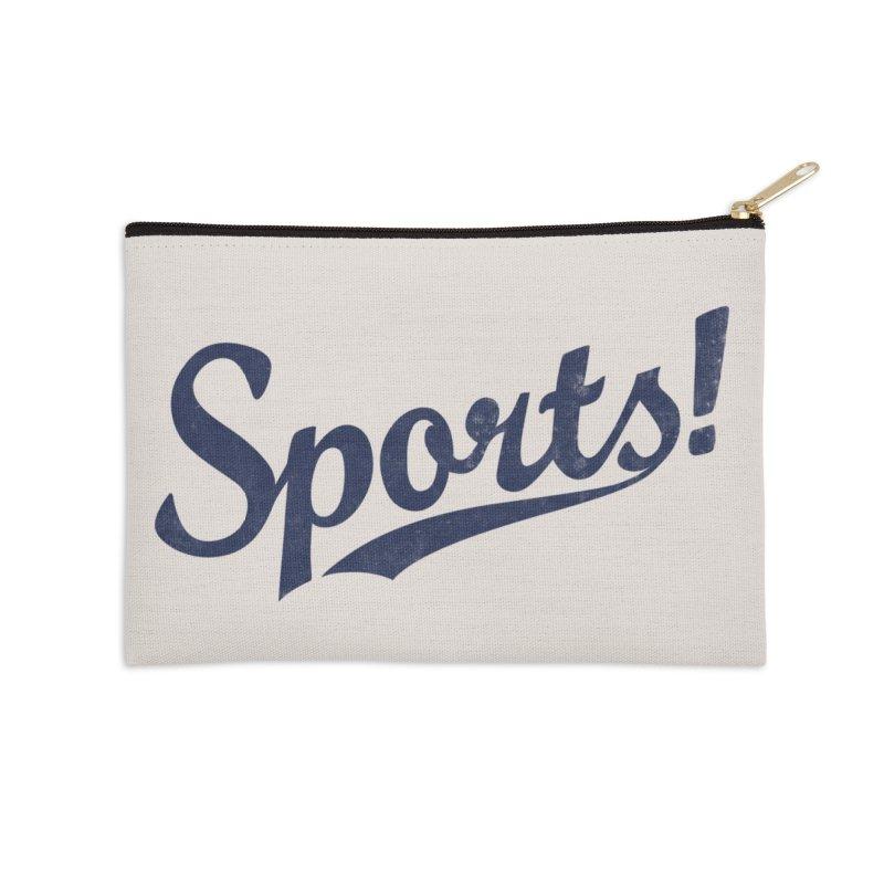 Sports! Accessories Zip Pouch by Threadless Artist Shop