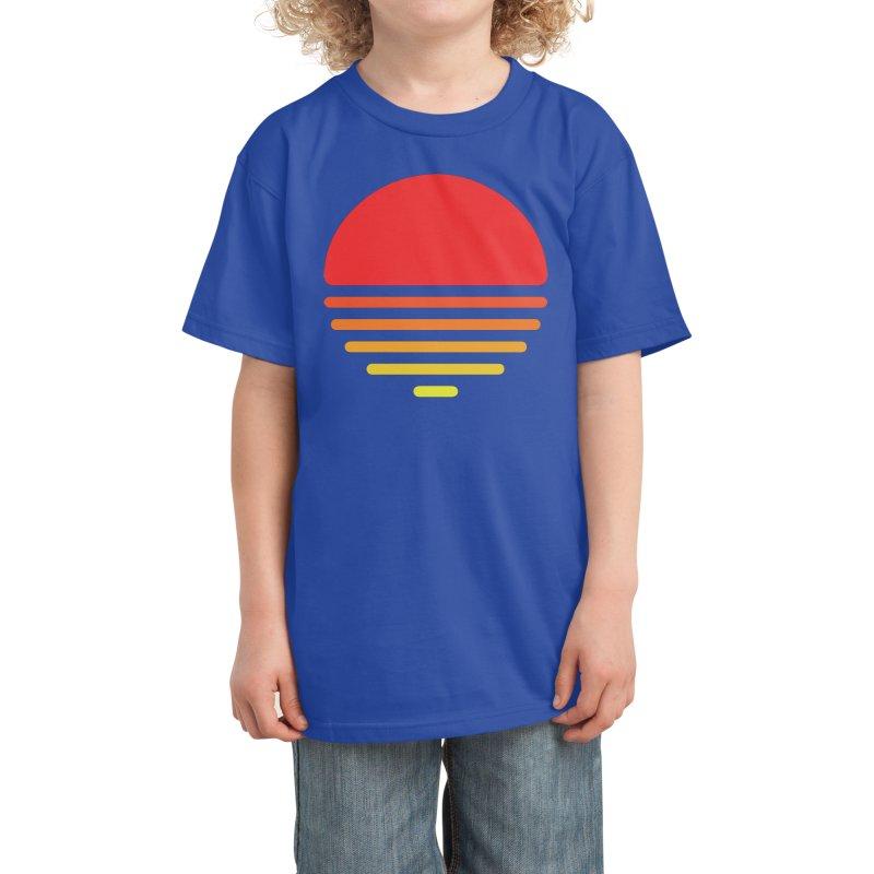 Summer - Mateus Dalethese Quandt Kids T-Shirt by Threadless Artist Shop