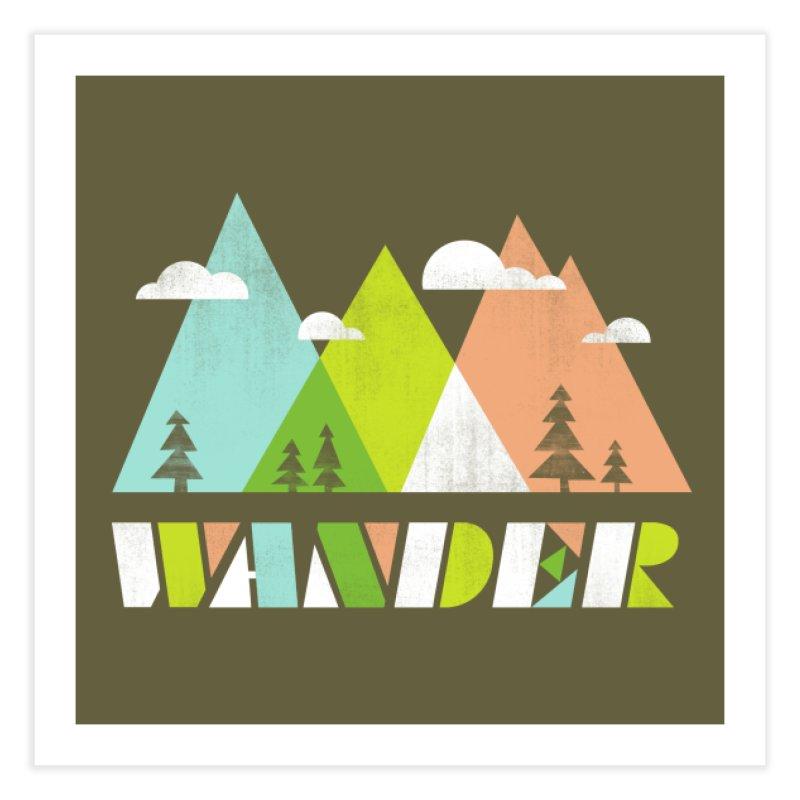 Wander Home Fine Art Print by Threadless Artist Shop