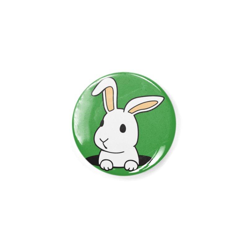 Rabbit Hole Accessories Button by Threadless Artist Shop