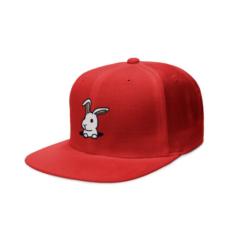 Rabbit Hole Accessories Hat by Threadless Artist Shop