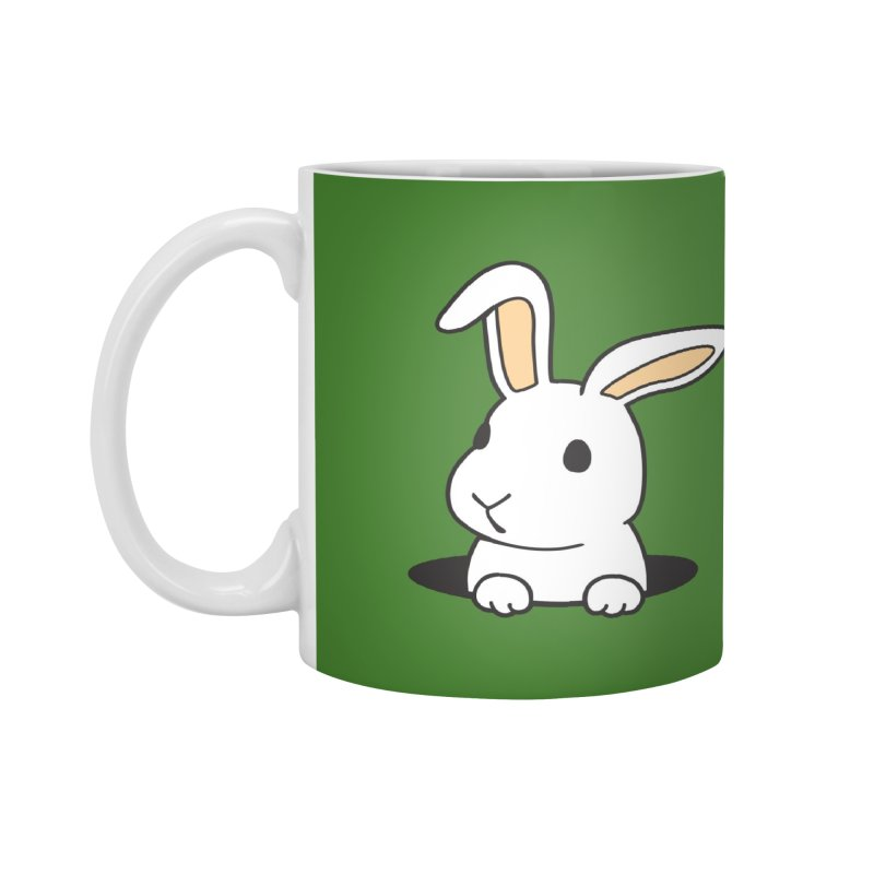 Rabbit Hole Accessories Mug by Threadless Artist Shop