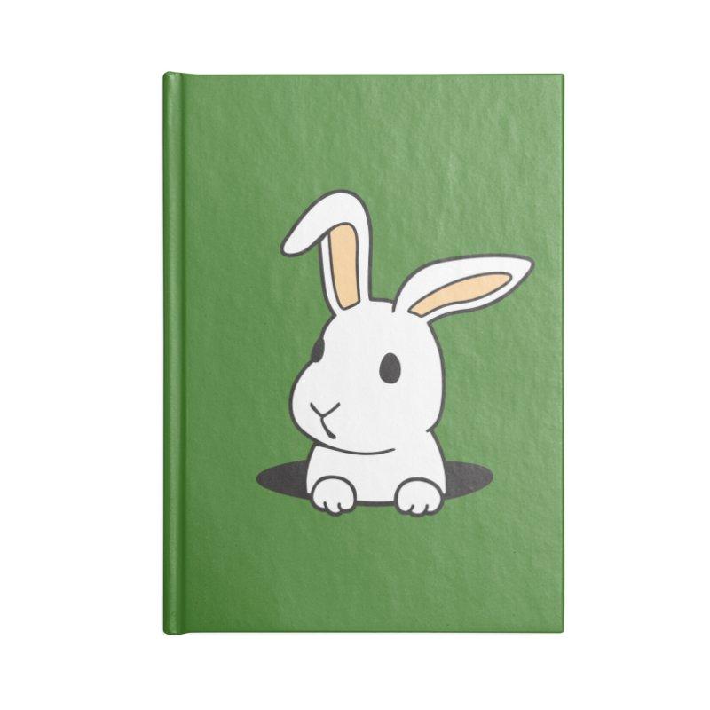 Rabbit Hole Accessories Notebook by Threadless Artist Shop