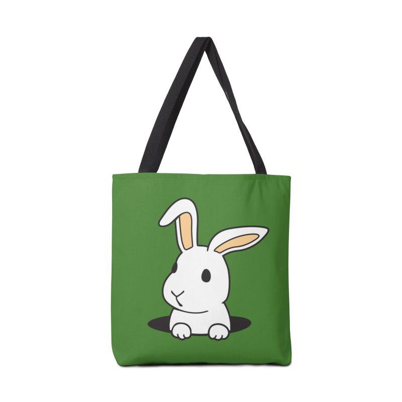 Rabbit Hole Accessories Bag by Threadless Artist Shop