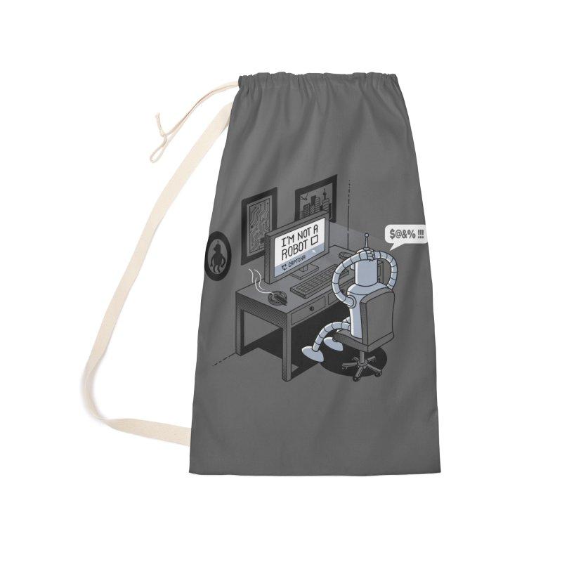 Robot Problems Accessories Bag by Threadless Artist Shop