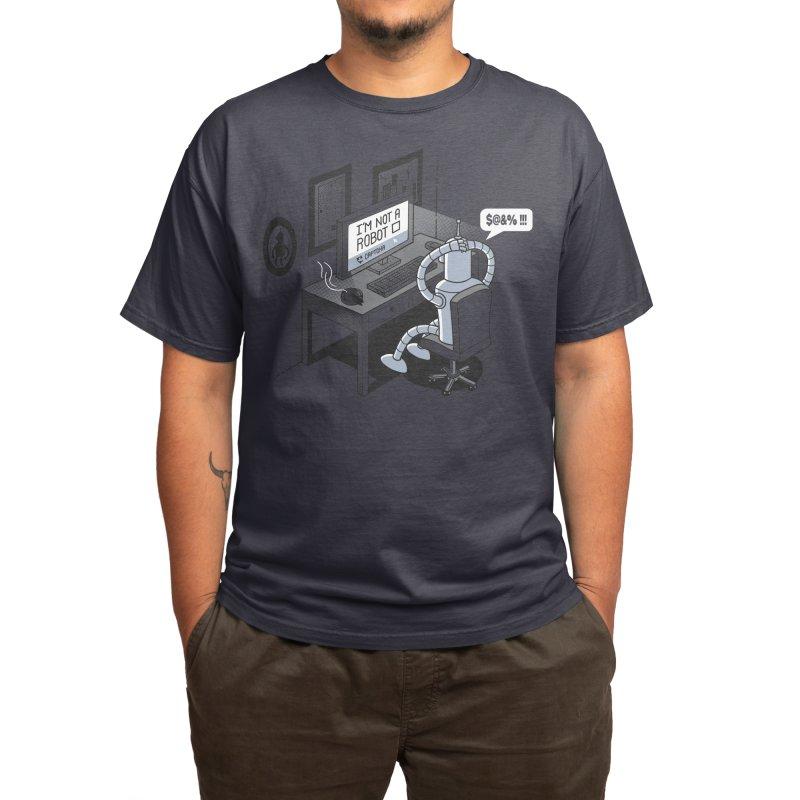 Robot Problems Men's T-Shirt by Threadless Artist Shop