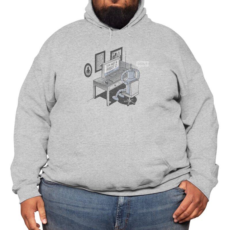 Robot Problems Men's Pullover Hoody by Threadless Artist Shop