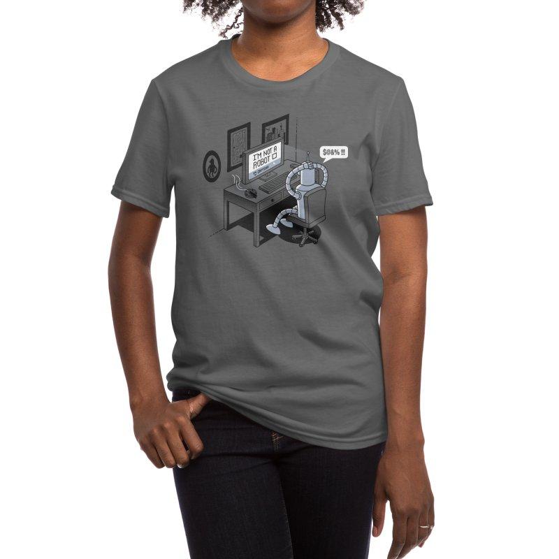 Robot Problems Women's T-Shirt by Threadless Artist Shop
