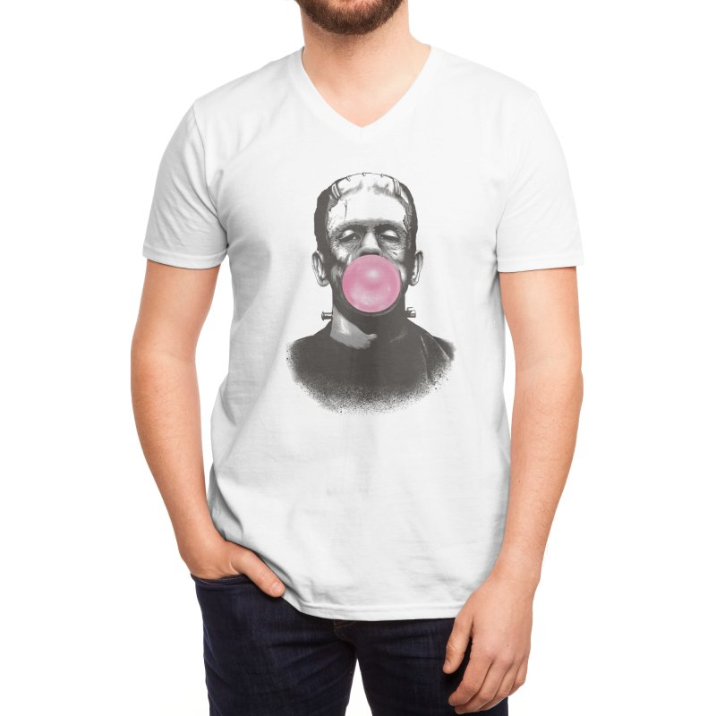 FRANKIE GOES TO HOLLYWOOD Men's V-Neck by Threadless Artist Shop