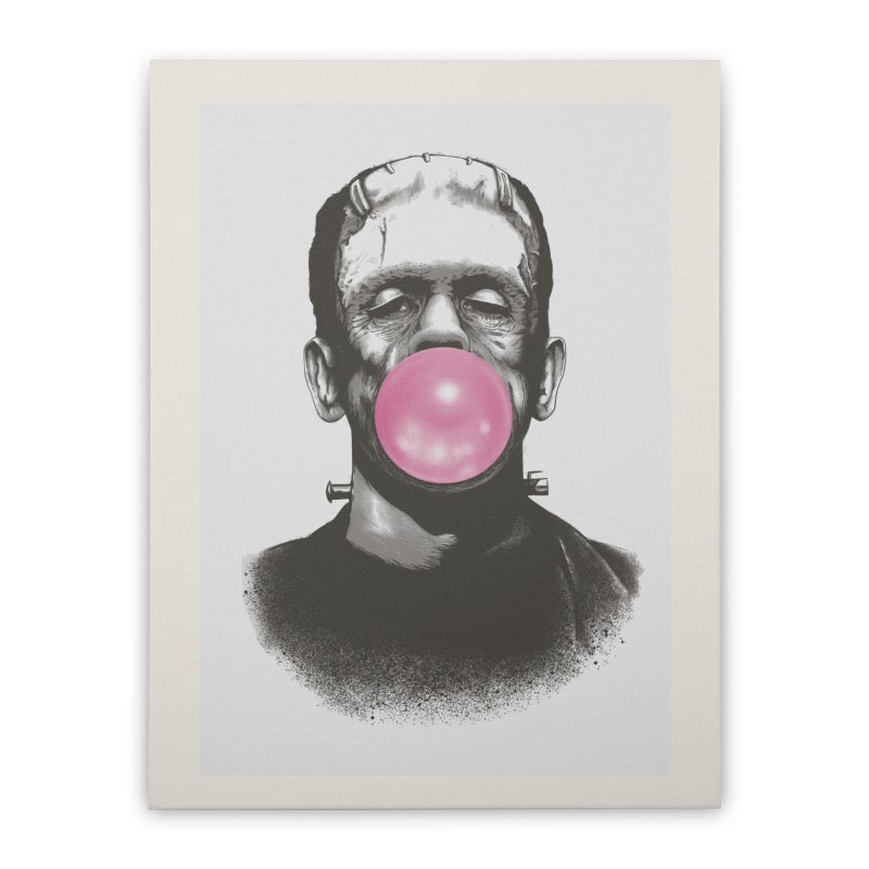 FRANKIE GOES TO HOLLYWOOD Home Stretched Canvas by Threadless Artist Shop