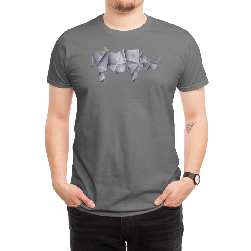 Rhinogami Men's T-Shirt by Threadless Artist Shop