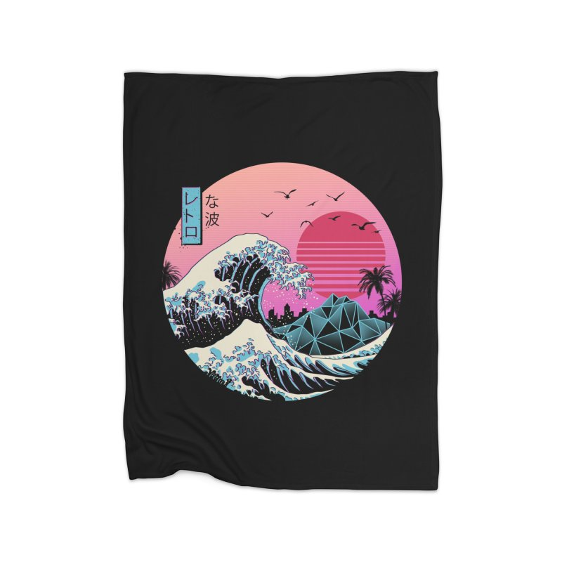 The Great Retro Wave Home Blanket by Threadless Artist Shop