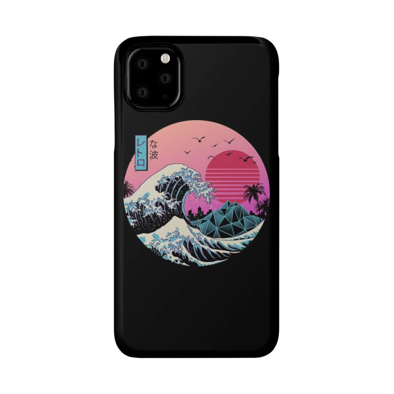 The Great Retro Wave Accessories Phone Case by Threadless Artist Shop