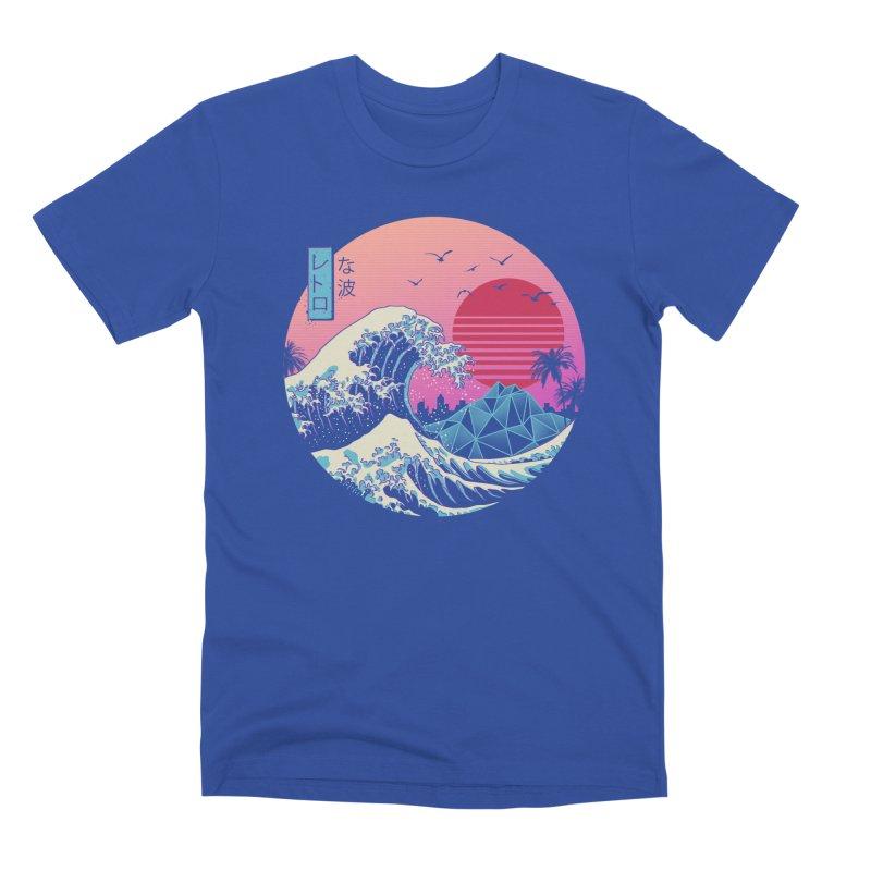 The Great Retro Wave Men's T-Shirt by Threadless Artist Shop
