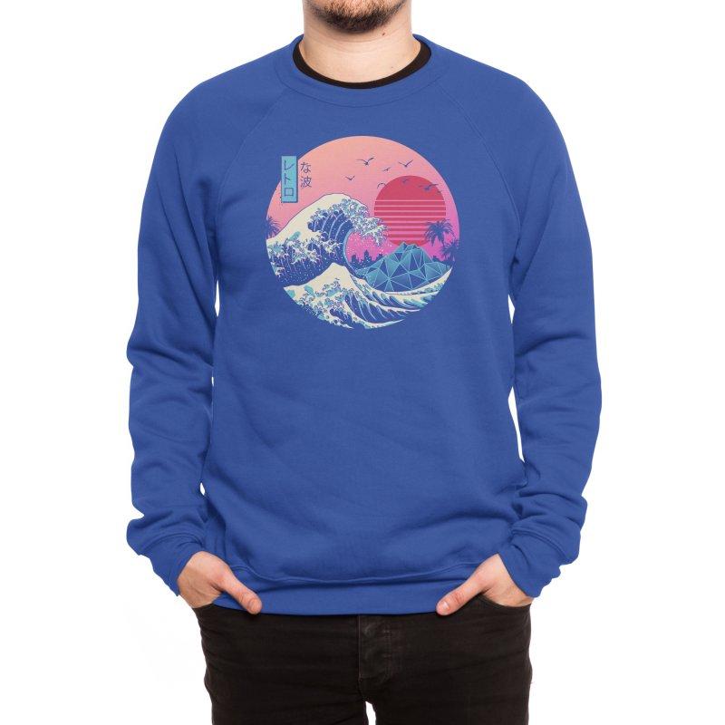 The Great Retro Wave Men's Sweatshirt by Threadless Artist Shop