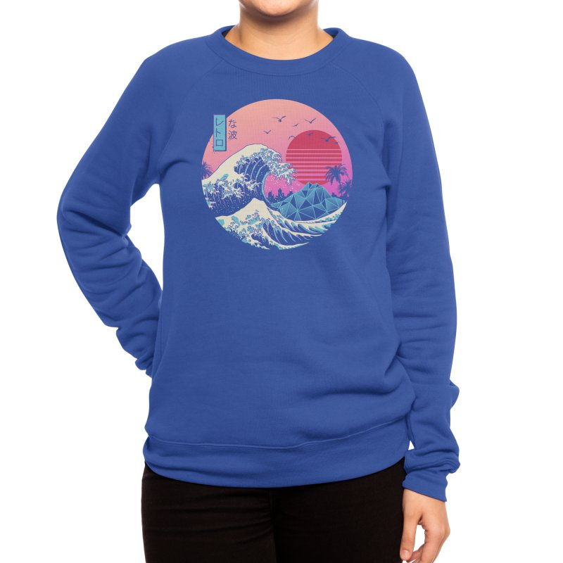 The Great Retro Wave Women's Sweatshirt by Threadless Artist Shop