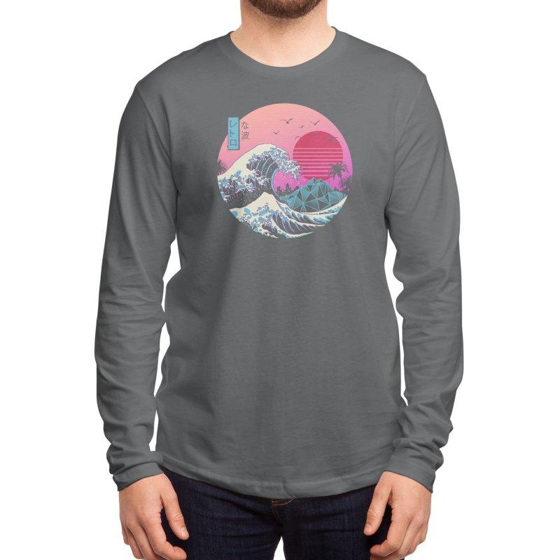 The Great Retro Wave Men's Longsleeve T-Shirt by Threadless Artist Shop