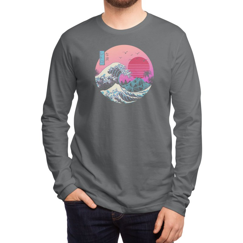 The Great Retro Wave Men's Longsleeve T-Shirt by Threadless Artist Shop