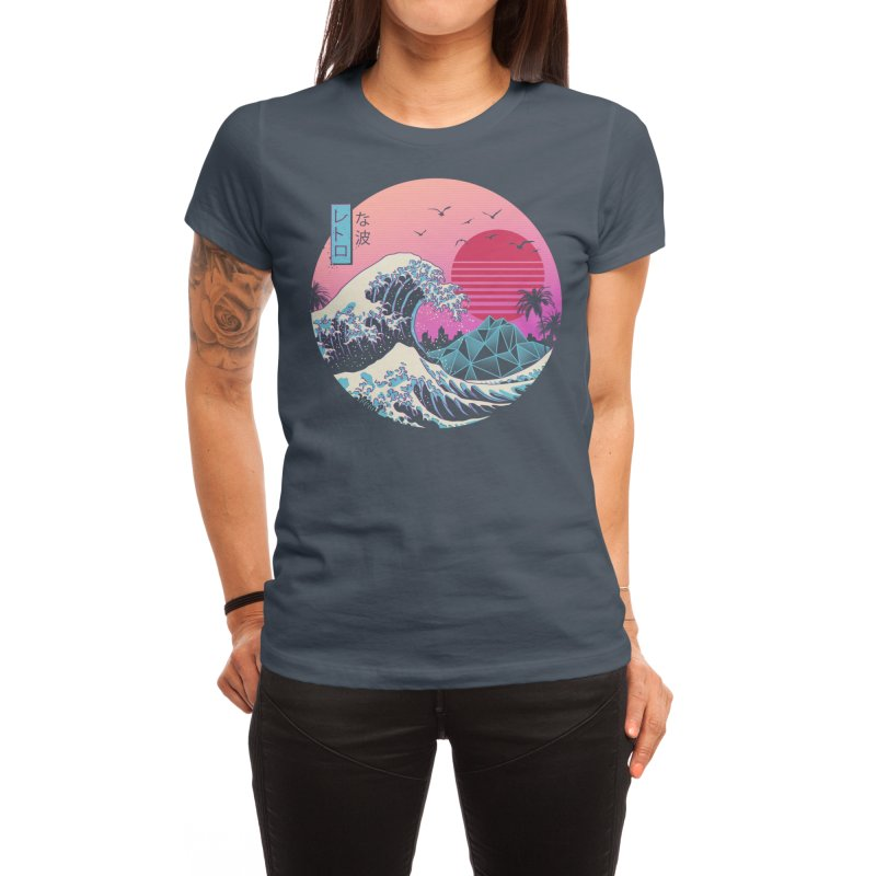 The Great Retro Wave Women's T-Shirt by Threadless Artist Shop