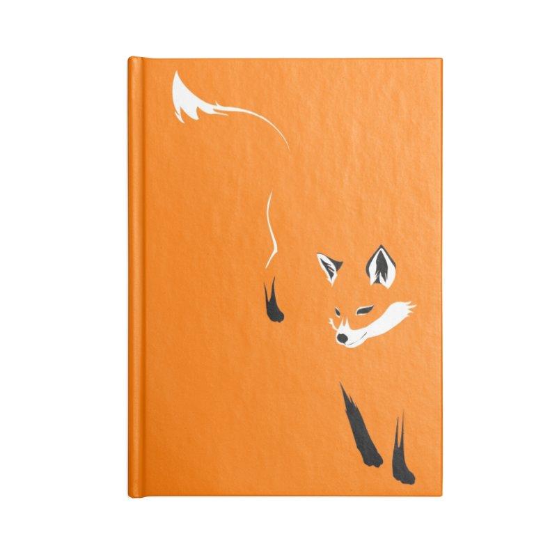 Foxy Accessories Notebook by Threadless Artist Shop