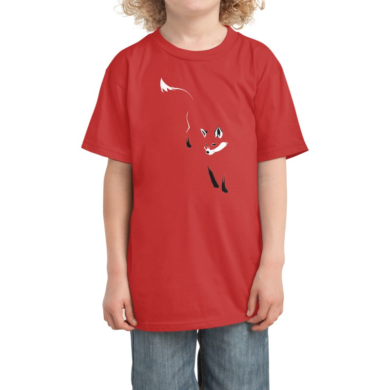 Foxy Kids T-Shirt by Threadless Artist Shop
