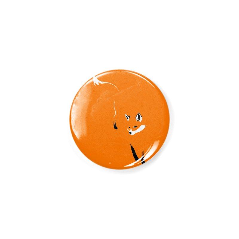 Foxy Accessories Button by Threadless Artist Shop
