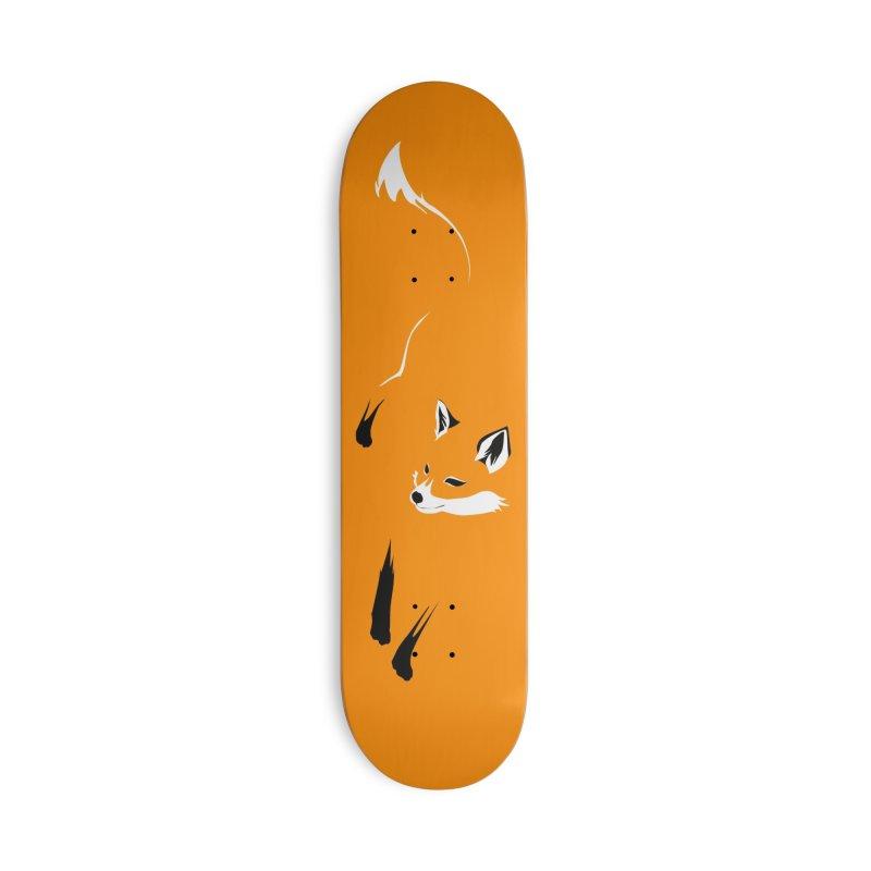 Foxy Accessories Skateboard by Threadless Artist Shop