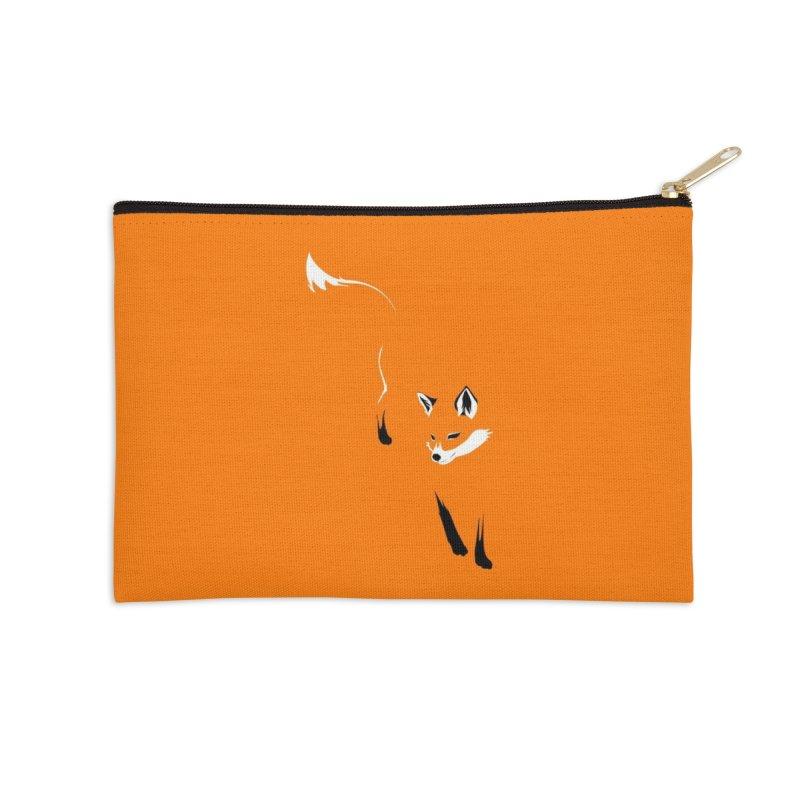 Foxy Accessories Zip Pouch by Threadless Artist Shop