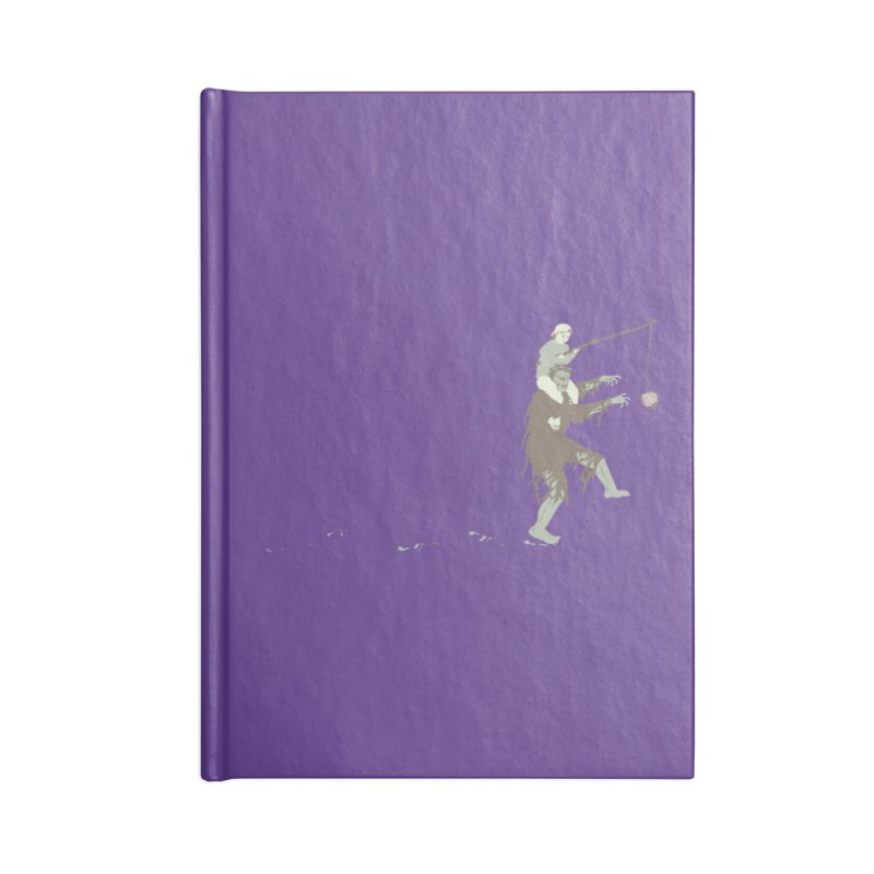 Zombie Donkey Accessories Notebook by Threadless Artist Shop