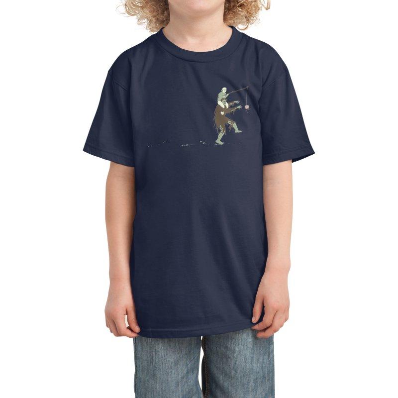Zombie Donkey Kids T-Shirt by Threadless Artist Shop