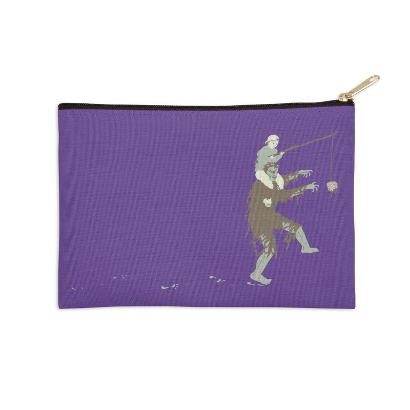 Zombie Donkey Accessories Zip Pouch by Threadless Artist Shop