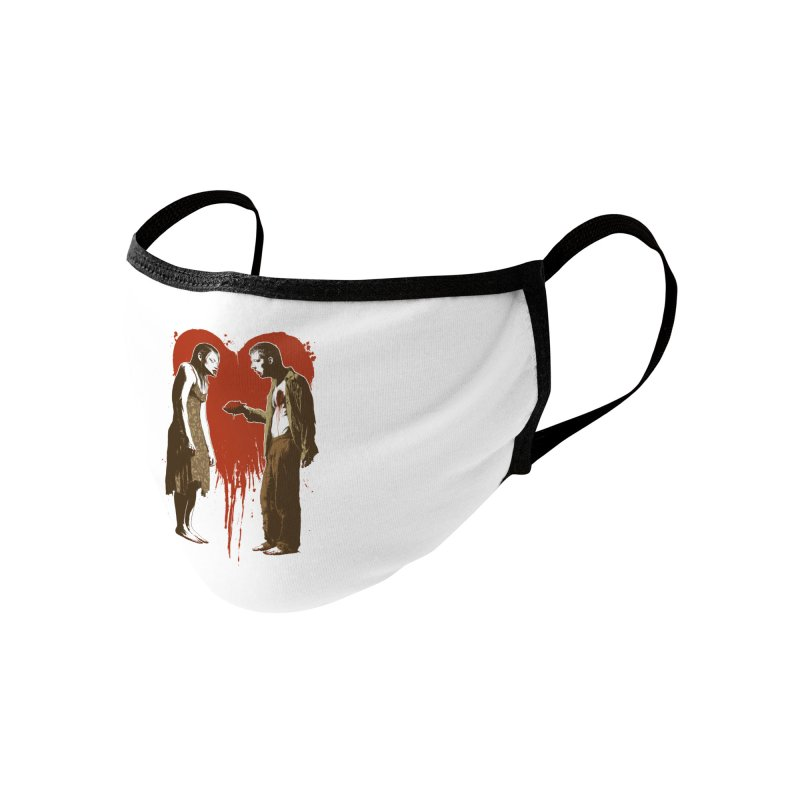 Zombie Romance Accessories Face Mask by Threadless Artist Shop