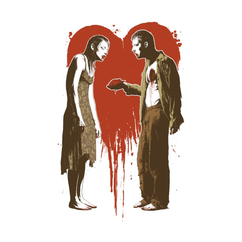 Zombie Romance Men's T-Shirt by Threadless Artist Shop