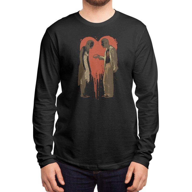 Zombie Romance Men's Longsleeve T-Shirt by Threadless Artist Shop