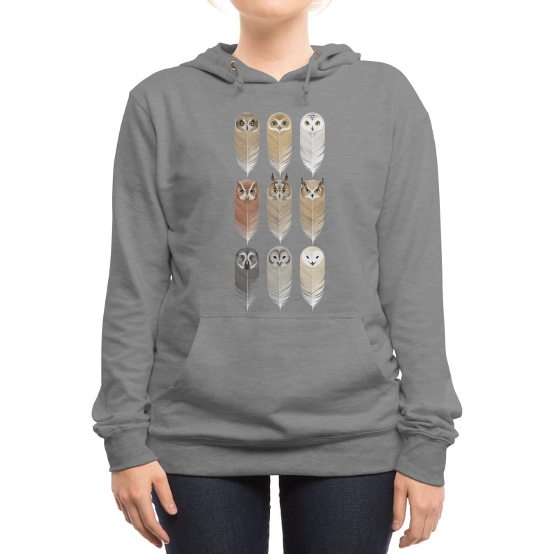 You're a Hoot Women's Pullover Hoody by Threadless Artist Shop