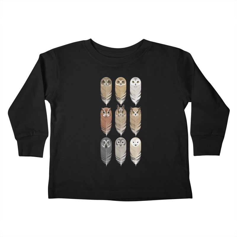 You're a Hoot Kids Toddler Longsleeve T-Shirt by Threadless Artist Shop