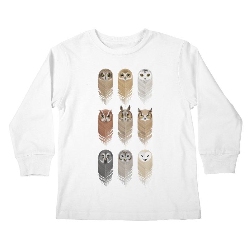 You're a Hoot Kids Longsleeve T-Shirt by Threadless Artist Shop