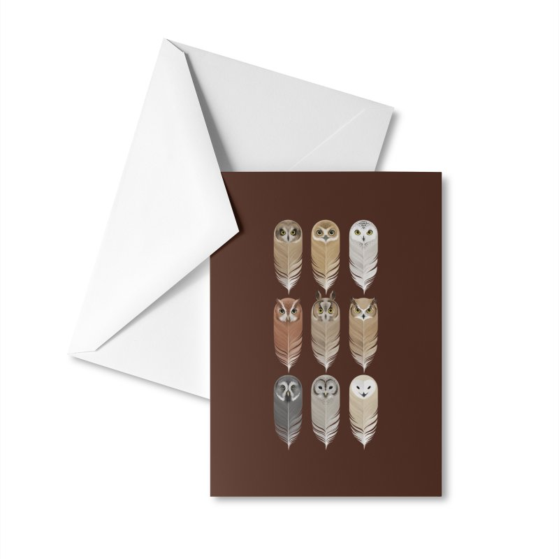 You're a Hoot Accessories Greeting Card by Threadless Artist Shop