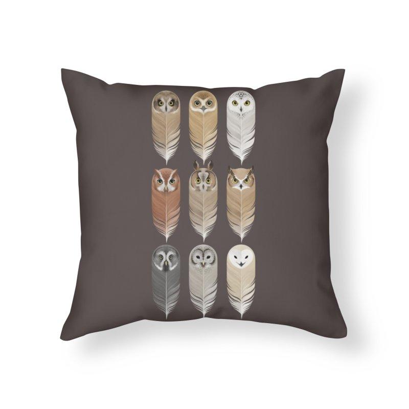 You're a Hoot Home Throw Pillow by Threadless Artist Shop