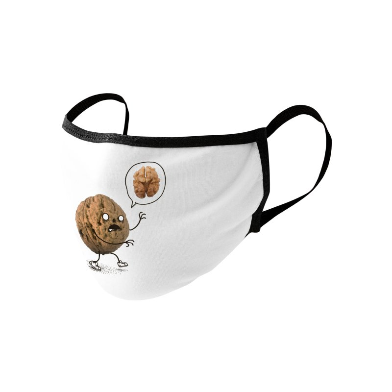 Zombie Walnut Accessories Face Mask by Threadless Artist Shop