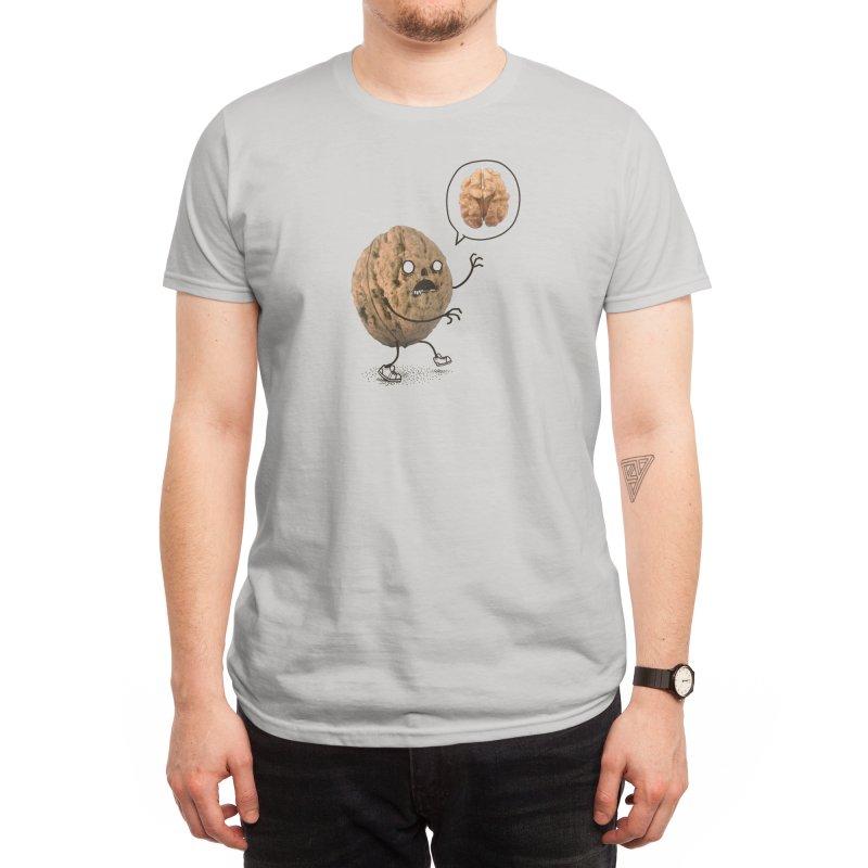 Zombie Walnut Men's T-Shirt by Threadless Artist Shop