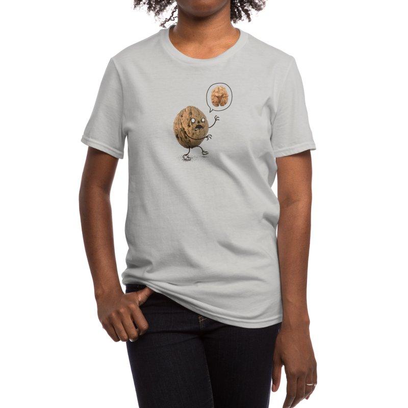 Zombie Walnut Women's T-Shirt by Threadless Artist Shop