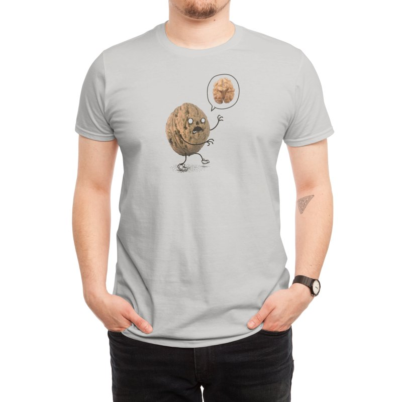 Zombie Walnut Men's T-Shirt by Threadless Artist Shop