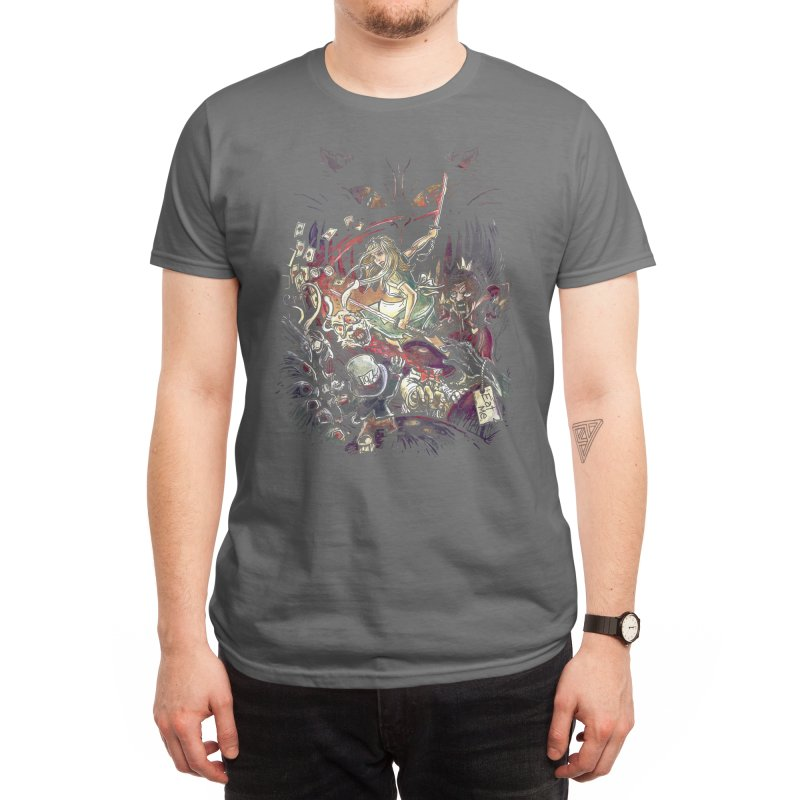 Zombies in Wonderland Men's T-Shirt by Threadless Artist Shop