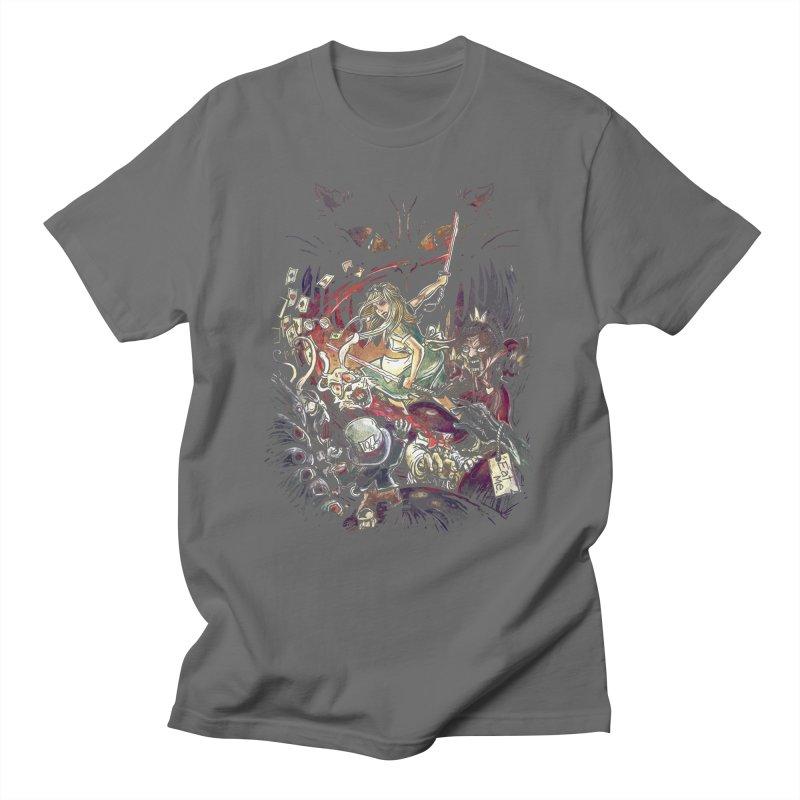 Zombies in Wonderland Women's T-Shirt by Threadless Artist Shop