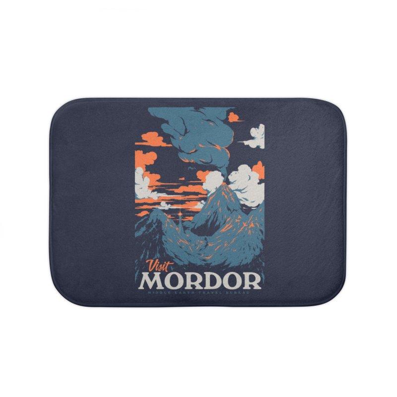 Visit Mordor Home Bath Mat by Threadless Artist Shop