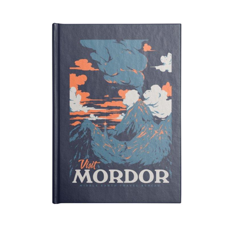 Visit Mordor Accessories Notebook by Threadless Artist Shop
