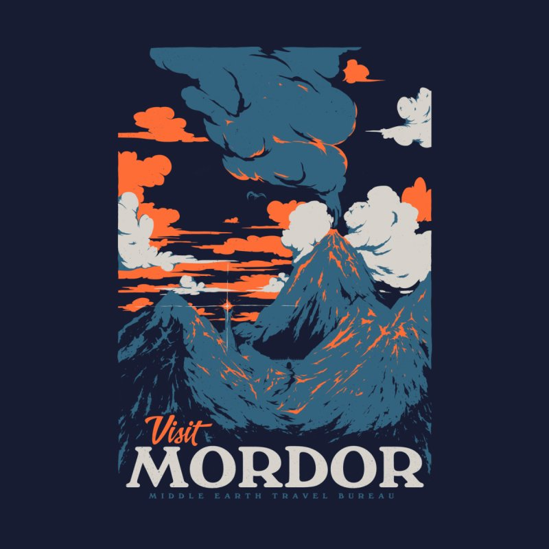 Visit Mordor Men's T-Shirt by Threadless Artist Shop