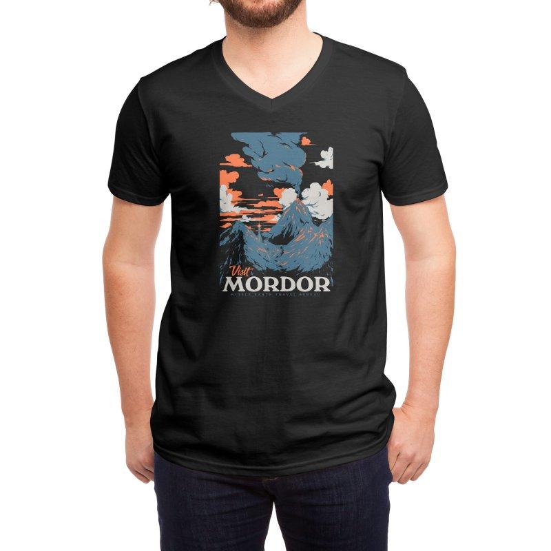 Visit Mordor Men's V-Neck by Threadless Artist Shop