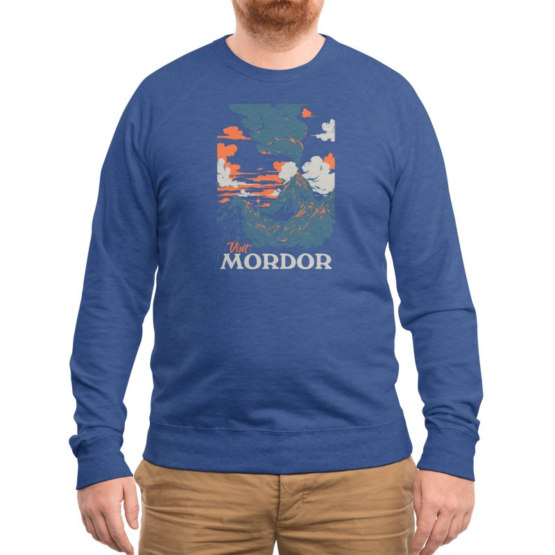 Visit Mordor Men's Sweatshirt by Threadless Artist Shop